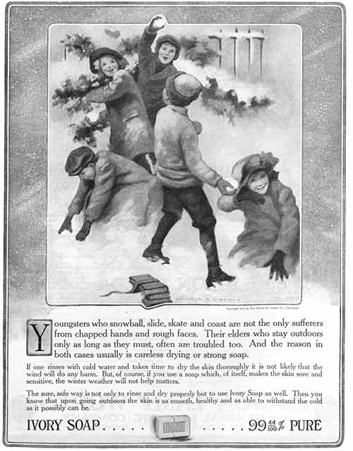 Dove Ad from 1914