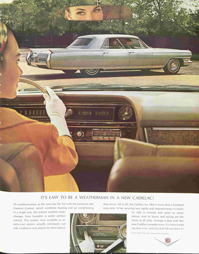 1963 advertisement for Cadillac