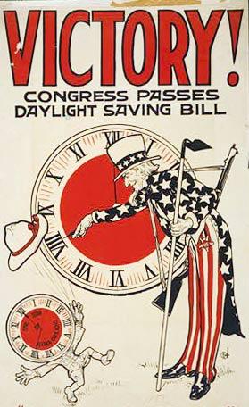Congress passes daylight saving bill