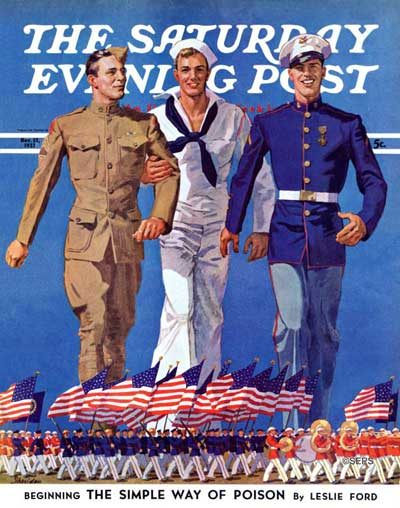 Army, Navy, and Marines by John Sheridan