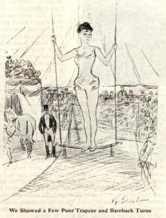 Scene of a circus