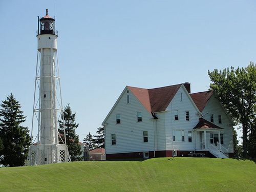 House and a light house