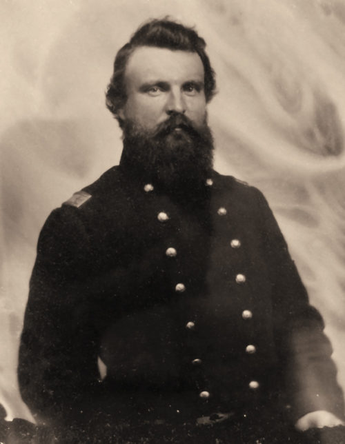 Portrait of Union soldier H.B. Stone