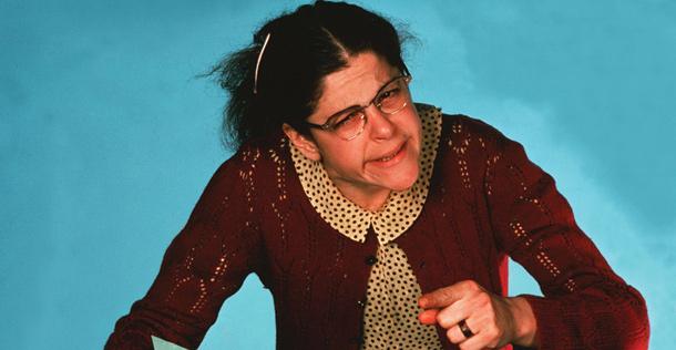 Gilda Radner in character
