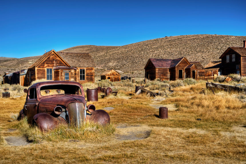 Ghost town in California