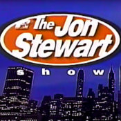 Logo for Jon Stewart's MTV talk show