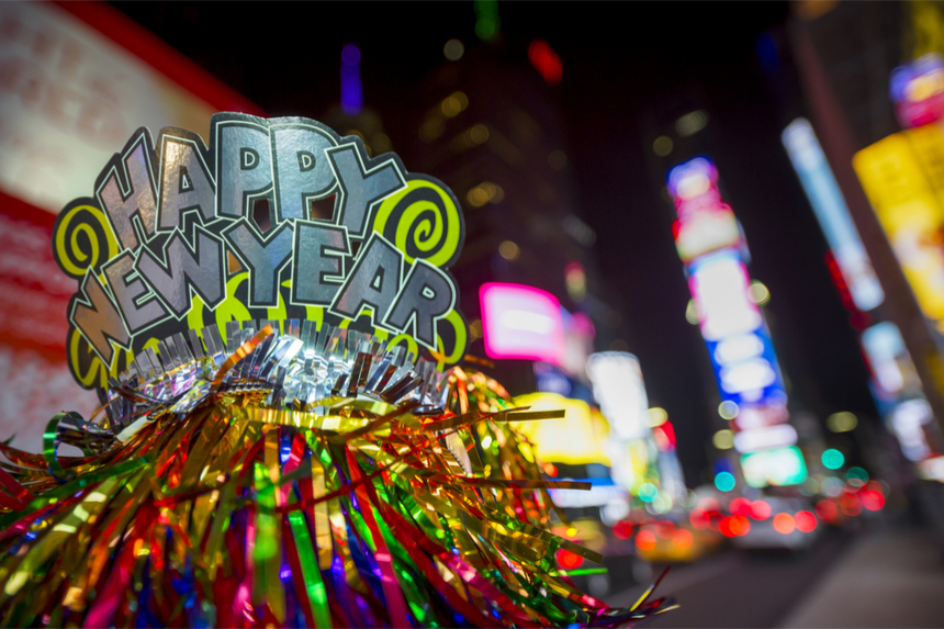 New Year's Eve celebration in New York City