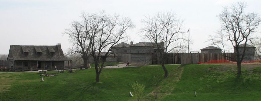Photo of Fort Osage in Missouri