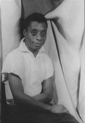Photo of James Baldwin
