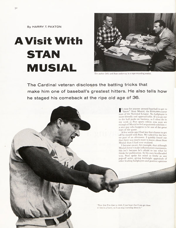 Stan Musial article page