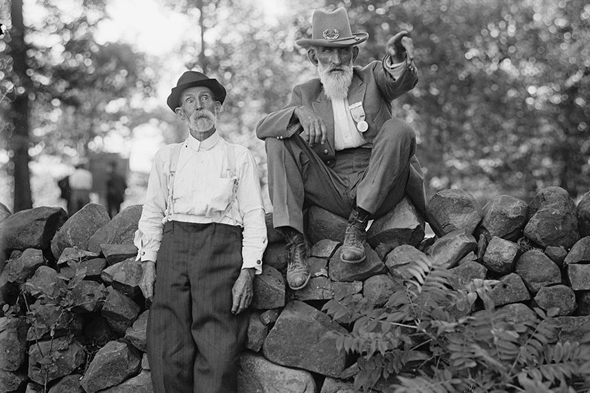 Two former Civil War soldiers