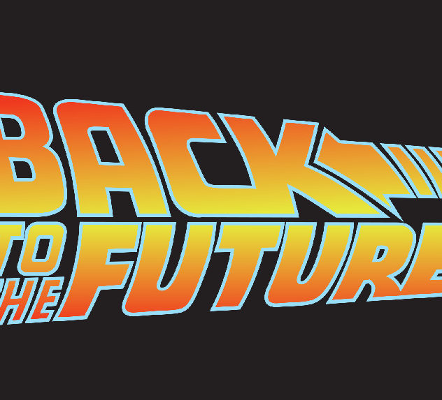 The BAck to the Future logo