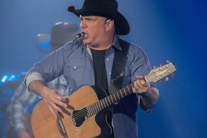 Garth Brooks during a 2015 performance.