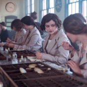 Scene from the film Radium Girls