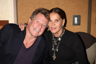 Love Story actors Ryan O'Neal and Ali McGraw