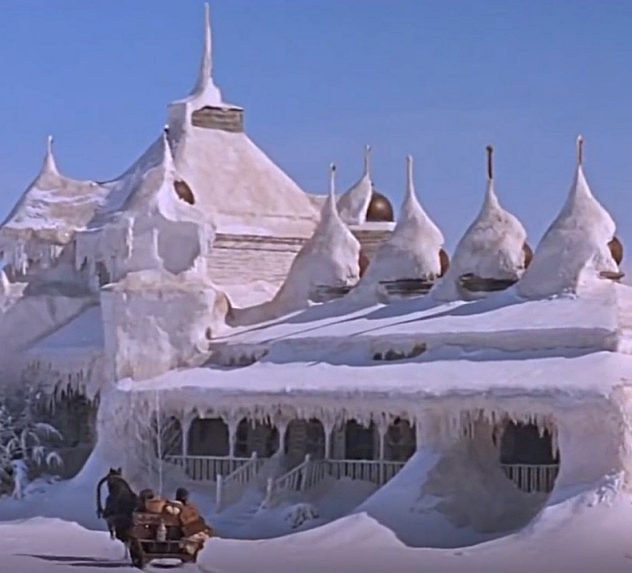 Scene from the film Dr. Zhivago