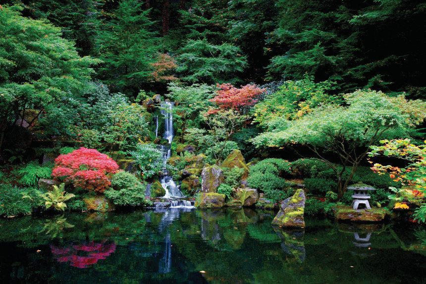 Photo of Portland's Japanese Gardens