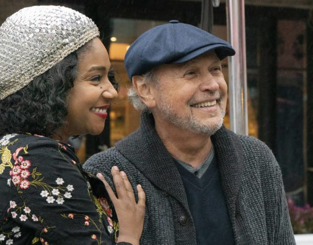 Tiffany Haddish and Billy Crystal in Here Today (Photo courtesy Stage 6 Films)