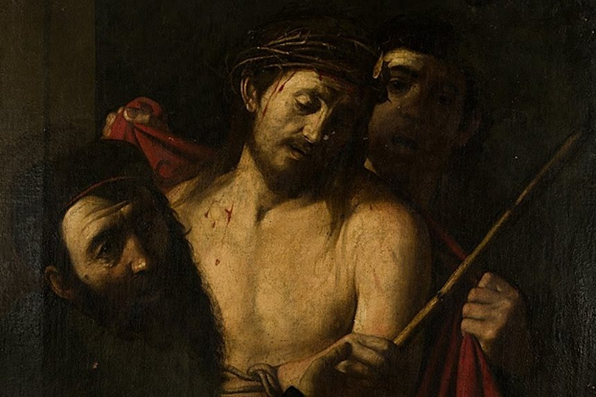 A Caravaggio painting that could be a fake.