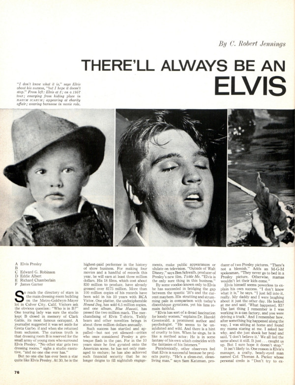 """Read the article """"There Will Always Be an Elvis"""""""