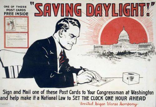 Daylight saving time ad