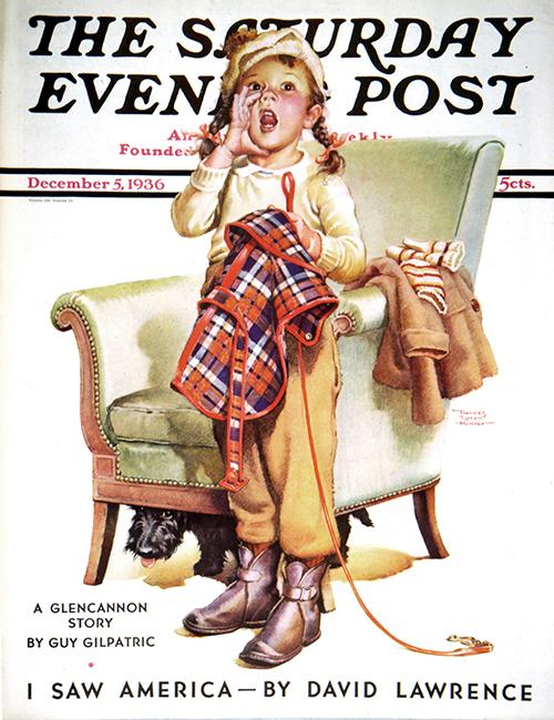 Here Boy! by Frances Tipton Hunter December 5, 1936