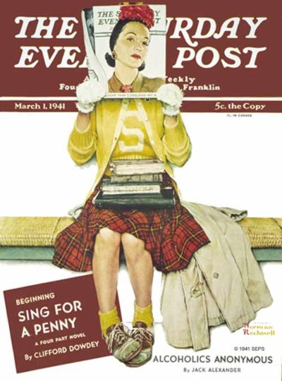 """Cover Girl"" from March 1, 1941"