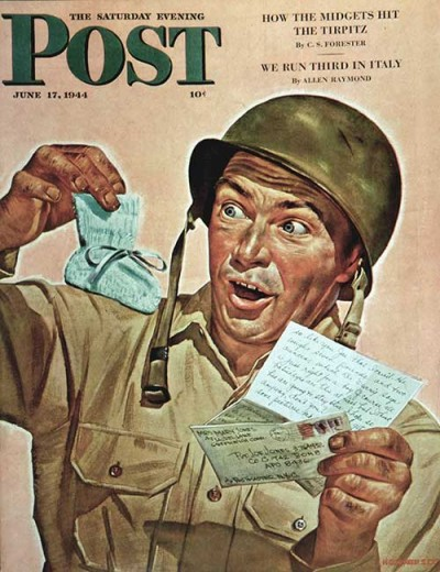 Baby Booties at Boot Camp by Howard Scott June 17, 1944