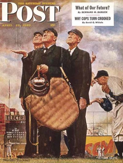 """The Three Umpires"" From April 23, 1949"
