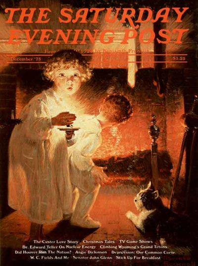 Classic Art: A Century of Christmas | The Saturday Evening Post