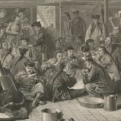 Chinese immigrants in San Francisco in 1800