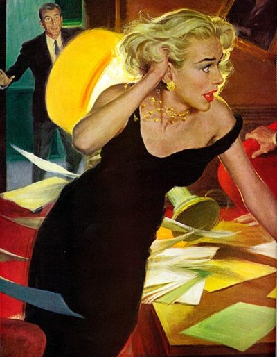 The Cold War Blonde by Robert G. Harris bore from September 26, 1959