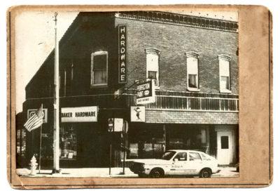 Danville, Indiana Bakers Hardware store