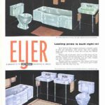 Eljer ad in The Saturday Evening Post, 1954.