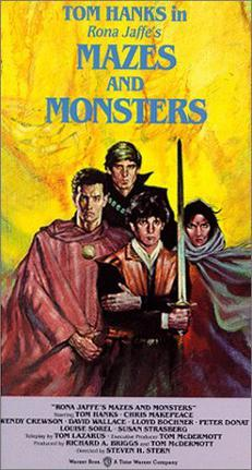 Cover for the book, Mazes and Monsters