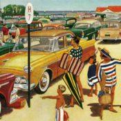 Beach Parking Lot James Williamson August 1, 1959 © SEPS