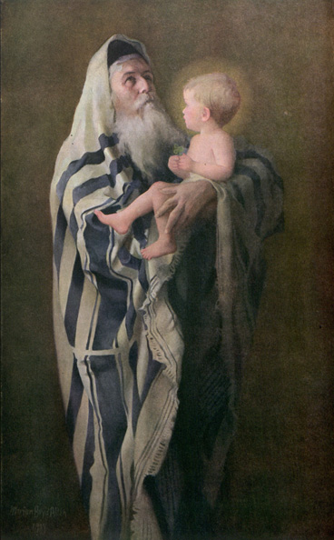 Simeon and the Christ Child Ladies Home Journal, December 1921