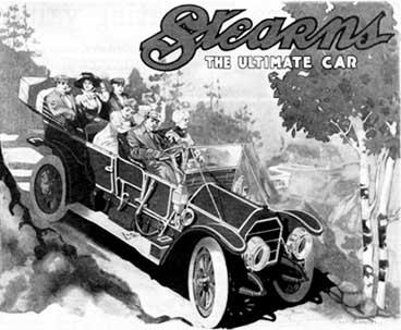 Stearns Car Ad August 27, 1910