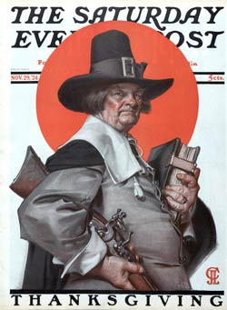 Pilgrim by J.C. Leyendecker