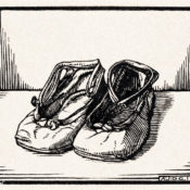 Illustration of a pair of shoes