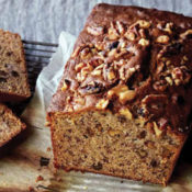 Banana Bread with Lots of Toasted Walnuts