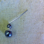 Bent Head Pin for Beaded Earring