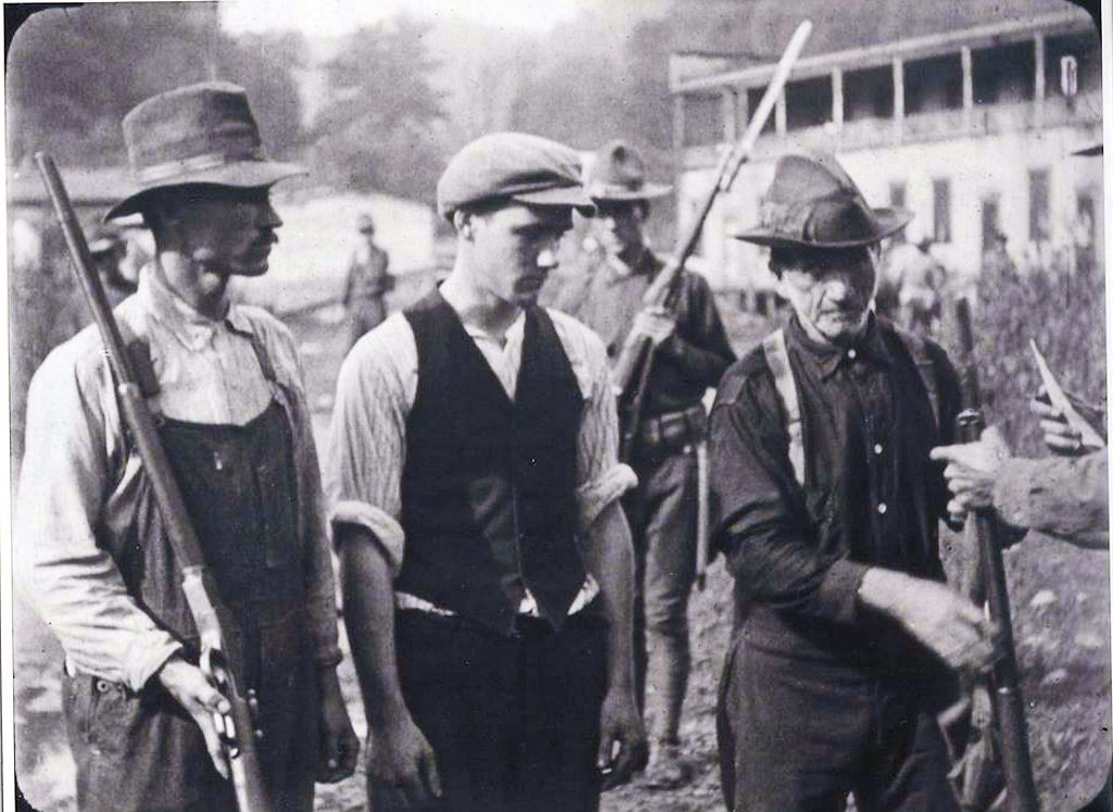 The 1921 Battle of Blair Mountain was the largest American insurrection since the Civil War.