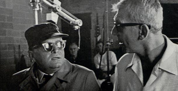 Truman Capote and Richard Brooks