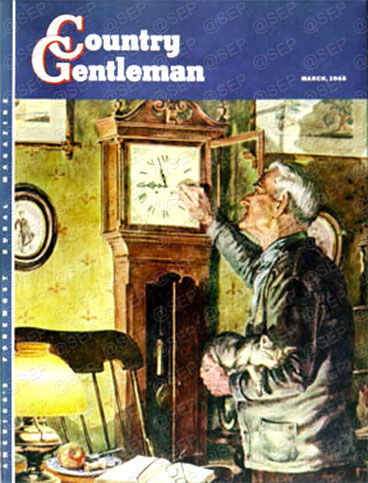 Country Gentleman cover from March 1, 1946