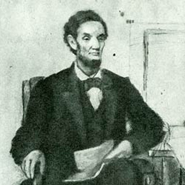 Abraham Lincoln, by Francis B. Carpenter