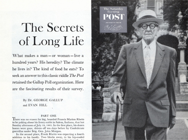 The Secrets of Long Life