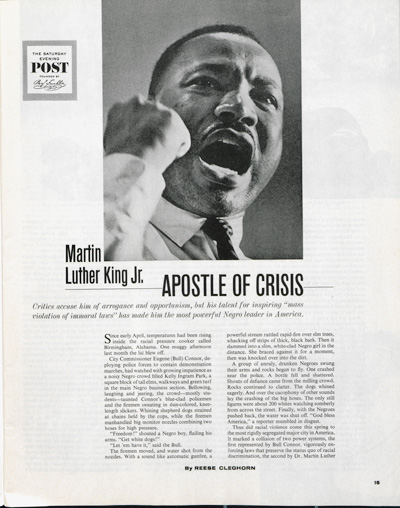 <em>Martin Luther King Jr.: Apostle of Crisis</em><br />by Reese Cleghorn<br />
