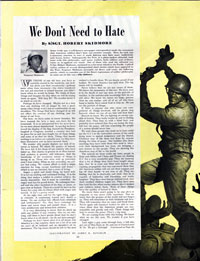 <em>We Don't Need to Hate</em><br />October 7, 1944<br />Click image to download PDF