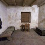 Father Serra's room at Carmel Mission.
